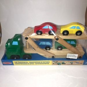 2/$20 🛍️ NEW- Melissa and Doug Car Carrier